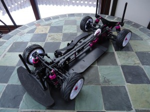 ZeroChassis 300x225 Product Review: 3Racing Sakura Zero S